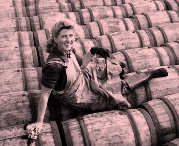 sitting-barrels